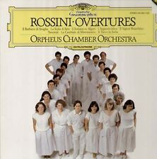 Rossini - Overtures, DGG digital 415363-1 LP 1985, Orpheus Chamber Orchestra