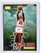 1997-98 Skybox Premium MICHAEL JORDAN Thunder Lightning Refractor #5