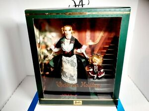 Victorian Holiday Barbie and Kelly Collectible Limited Edition Mint New #28395