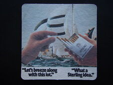 LET'S BREEZE ALONG WITH THIS LOT WHAT A STERLING IDEA BENSON & HEDGES COASTER