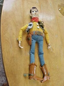 1999 Woody Sheriff Toy STory 2 Doll by Mattel