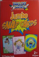 Red Tallon Pack of Jumbo Snap Cards (36 Cards) Dog, Lion, Cake, Monster etc.