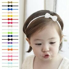 20Pcs Cute Kids Girl Baby Ribbon Toddler Flower Bow Headband Hair Band Headwear