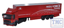 76DAF002 Oxford Diecast 1:76 Scale DAF 85 2 Axle 40ft Box Trailer Parcelforce