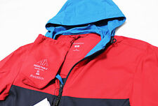 NWT J.W. ANDERSON X UNIQLO Packable Red-Navy Parka Windbreaker Jacket X-Small XS
