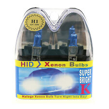 2Pcs H1 12V 55W 8500K Xenon Super White Car Styling Headlight Halogen Bulb
