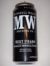 Sexy Chaos - Marshall Wharf Brewing - Empty 16oz Craft Beer Can Maine