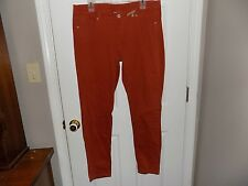 Red Camel NEW Skinny Super Stretch Denim Jeans Ava Fit Low Rise Rust Size 15