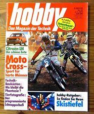 Hobby 23/1976 Test Citroen LN, Moto Cross,Citroen 2 CV Special,BAWEMO-Reisemobil