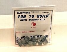O Scale - Walthers Heavyweight Passenger Car Utility Vents (12). New Old Stock.