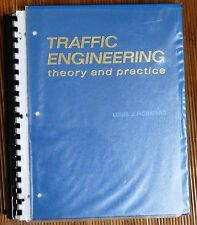 3 Books: Traffic Engineering Theory and Practice etc.