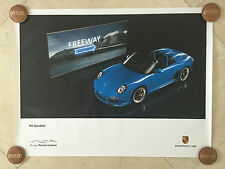 "Porsche Original Factory Poster-911 | 997 Speedster-Exterior Shot- ""Freeway"""