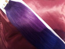 """18"""" tape hair assorted colours human remy extensions 0.5g GB seller"""