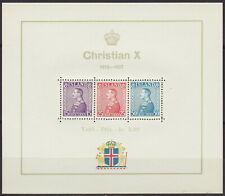 "Island 1937 - ""25 Jahre Regentschaft König Christian X."" (postfrisch MNH)"