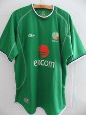 2001 2003 Original Umbro Republic of Ireland Soccer Football Jersey Shirt Home