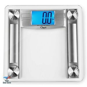 Accurate Bathroom Scale Body Weight Measure + Fat Caliper and Measuring Tape NEW