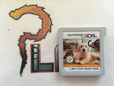 NINTENDO 3DS NINTENDOGS + CATS GOLDEN RETRIEVER AND & NEW FRIENDS  PAL EUR