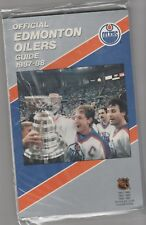 1987 88 Edmonton Oilers Media Guide/Yearbook Stanley Cup Champs Gretzky Messier