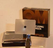 Rare Boxed OLYMPUS OM Focusing Screen No 1-11 for OM-1n, OM-2, OM-3, OM-4