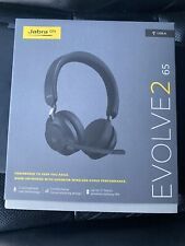 Jabra Evolve2 65 Stereo (USB-A) Black Headset w/ Multi-Device Connectivity
