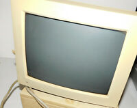 "APPLE MACINTOSH Vintage 12"" RGB Display-Used-Unknown Condition (heavy item)"