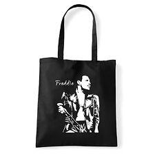 Art T-shirt, Borsa shoulder Freddie Mercury Queen, Nera, Shopper, Mare
