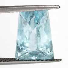 TOP COLOR AQUAMARINE : 7,01 Ct Natürlicher Blau Aquamarin aus Brasilien