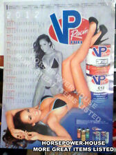 BAMBI 2012 VP RACING FUEL GARAGE SHOP BIKINI PIN UP PIT SHOP POSTER CALENDAR HOT