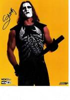 WCW NWO WWE AEW Legend Sting Signed 8x10 Photo