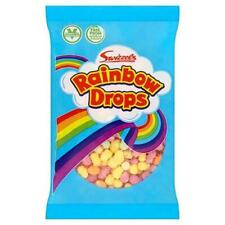 Rainbow Drops Puffed Retro Sweet Candy Kids Adult Party Bag Filler Favour Treat