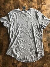 Abercrombie & Fitch Mens Blue Short Sleeved T Shirt Size 2XL NEW