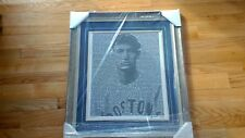 BOSTON RED SOX TED WILLIAMS MOSIAC FRAMED 16 X 20 PHOTO