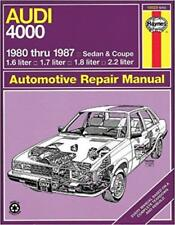 Haynes AUDI 4000 (80-87) S COUPE SALOON 5+5 Owners Service Manual Handbook Book