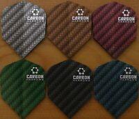 Harrows Carbone Dart Vols - 6 Couleur Choices-1/3/5/10 Ensembles