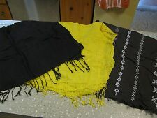 3 Old Navy Lightweight Scarf Scarves Lot