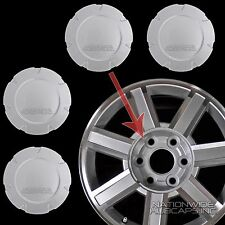 "fits 2007-14 Cadillac Escalade 18"" Aluminum Wheel Center Hub Caps Rim Cover Hubs"