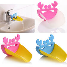 Tap Extension Device Water Faucet Extender Crab Cartoon Kid Hand Washing Guider