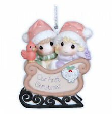 Precious Moments - Our First Christmas Together 2012 Dated Ornament #121004 NIB