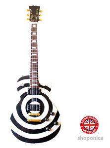 Black Label Society ' Zakk Wylde ' Miniature Guitar Replica
