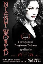 Night World Secret Vampire Daughters of Darkness Spellbinder by L. J. Smith USED