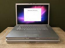 "Lot of (2) *Refurb* Apple MacBook Pro A1211 15.4"" Laptop 2.16GHz - NO BATTERY"