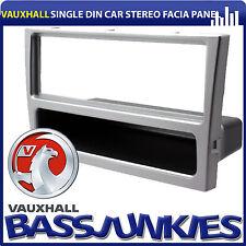Vauxhall Corsa C 2000 - 2006 Car Stereo Silver Single Din Facia Fascia Panel