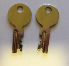 1958 - 1963  Fender Guitar Case keys (2)   Vintage  new old stock