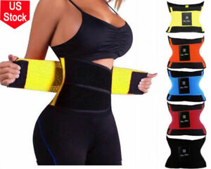Women's Waist Trainer Body Shaper Sweat Belt Tummy Slimming Band Girdle Girdle