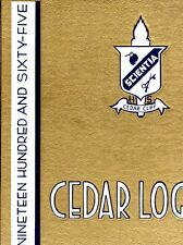Cedar Cliff High School Camp Hill Pennsylvania 1965 Cedar Log Yearbook Annual