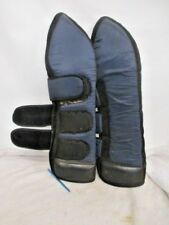 lIGHTLY USED TOMARA HEAVY DUTY EQUINE HORSE SHIPPING BOOTS - REAR ONLY #166096