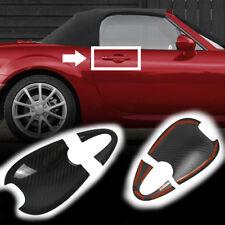Carbon Fiber Mazda MX-5 Miata Convertible ND Out Side Door Bowl Cover 16-17 GS