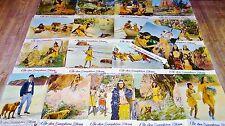 L'ILE DES DAUPHINS BLEUS ! jeu 18 photos cinema lobby cards western indiens 1966