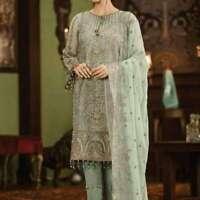 Pakistani Indian Salwar Shalwar Kameez SUIT Bollywood Anarkali Chiffon Asim Jofa