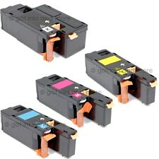 4/PK Toner Cartridge Set Black/Cyan/Yellow/Magenta for Dell 1250c/1350cnw/1355cn